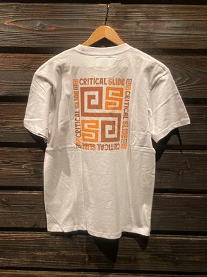 Critical Slide  TRIPOLI TEE  white  Lサイズ TE2044