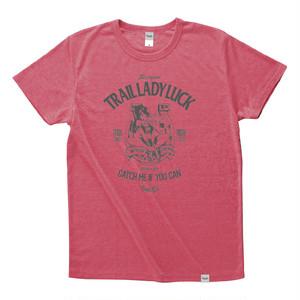 【在庫限りで販売終了】Tri Brend T-Shirt / TLL / Heather Red