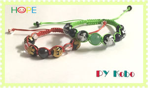 [Better fortune] Kyusei (Nine star Ki) and Shijinjyu (four mythological creatures) bracelets