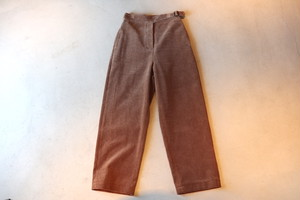 『Phlannel』Cotton Corduroy Gurkha Trousers