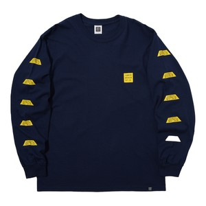 TRAPEZIUM L/S TEE(NAVY)[TH8A-007]