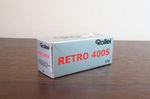 【モノクロネガフィルム 120 ブローニー】Rollei(ローライ) RETRO400S