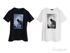ボーイ・ジョージTシャツ〈FUNDOM×HERBIE YAMAGUCHI〉(黒)