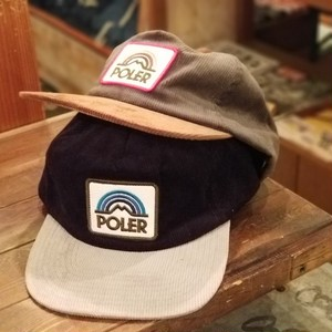 POLER OUTDOOR STUFF ポーラー CORDUROY CAP