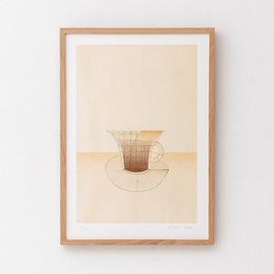 arche《cup》ポスター | キャッサバ 佐藤洋美