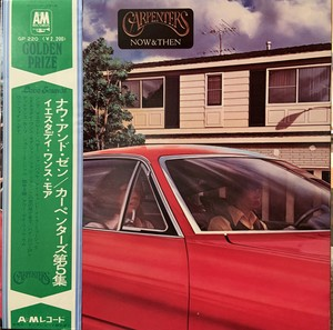 【LP】CARPENTERS/Now And Then