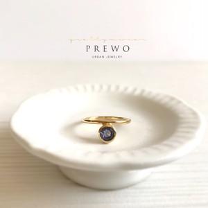 【受注製作】Cute ring -ブルークォーツ-