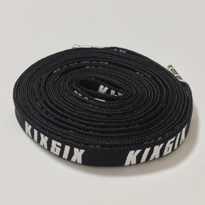 LOGO SHOELACE(BLACK/white)