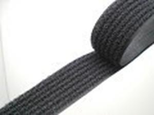 クラレ フリーマジック 縫製タイプ 25㎜幅 黒/白 25m巻