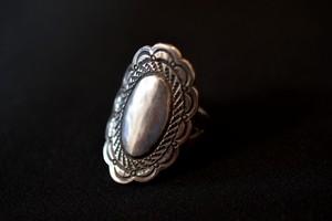 Plain concho ring