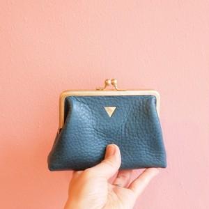 mini   ウォレット/がまぐち財布 ターコイズ×ピンク