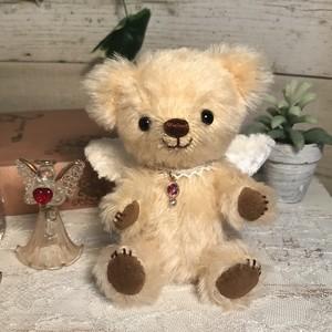 オパール・天使のテディベアHappy Bear