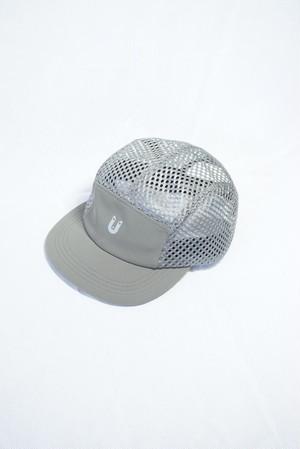Sato Synthetic Mesh Cap: Color Grey