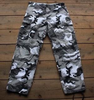 Trousers, Combat カモフラージュ 【Fj1613】