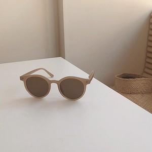 【即納】■偏光レンズver.■3color : Semi Clear Sunglasses 91001 UVカット クリア  ベージュ サングラス