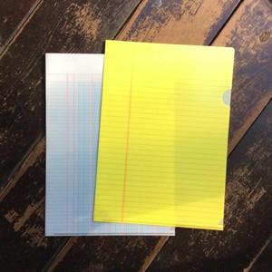 BUNG Clear Forder リーガルパッド+出納用紙