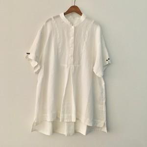 C52642 MaoCollar HarfSleeveShirt