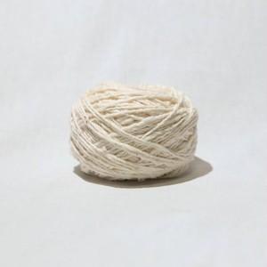 がら紡みこ糸 30g オーガニックコットン100% fuwaco(ふわこ)