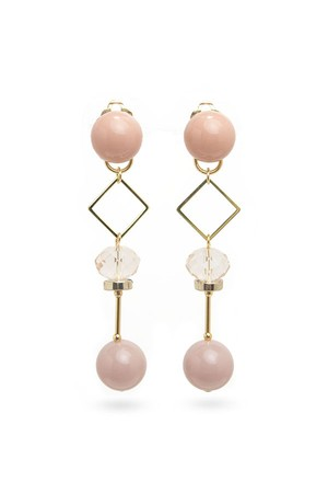 Small Candy Ball Earrings | PINK