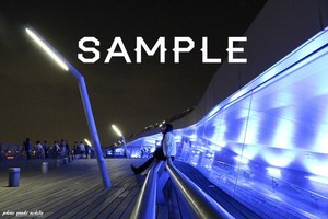 【風景】夜景 横浜 みなとみらいポストカード