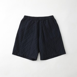 PARQUEST JACQUARD EASY SHORT PANTS - NAVY