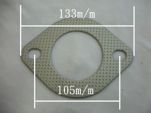 マフラー用ガスケット 60φ(大)楕円(長穴)
