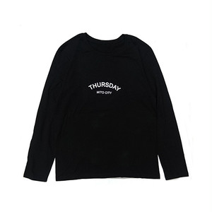 THURSDAY - ARCH L/S TEE (Black)