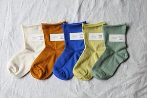 【Glück und Gute】  グリュックントグーテ  薄履く organic cotton オーガニックコットンソックス 靴下