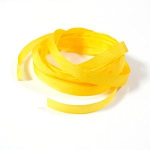 絹 シルク リボン 6mm レモン 2m