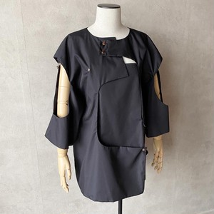 ピース トップス / Black【Lau made in japan】