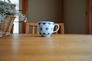 砥部焼/コーヒーカップ/梅紋/皐月窯