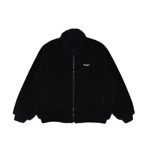 BOA NYLON REVERSIBLE JACKET / BLACK x BLACK