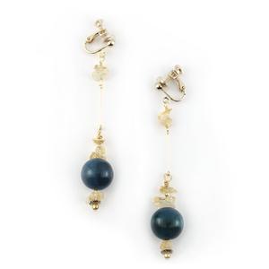 Import glass_Citrine_Earrings