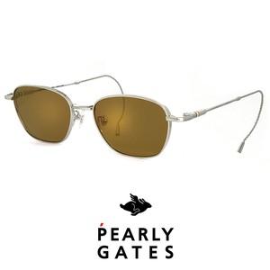 日本製 PEARLY GATES パーリーゲイツ メンズ サングラス pg-8903-2 ゴルフ サングラス pearly gates (パーリー ゲイツ) 巻きつる