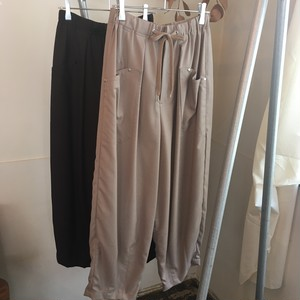 【 OTOÄA 】オトア SAXONY WIDE BALLOON PANTS