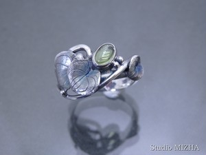 草あそび(金工の指飾りmr186-02)