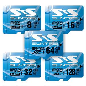 suntrsi microSDHCカード ブルー 32GB Class10 UHS-I U1 60MB/s