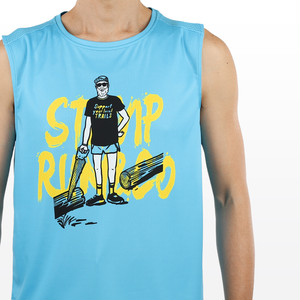 STAMP GRAPHIC TANK (Support your local trails)