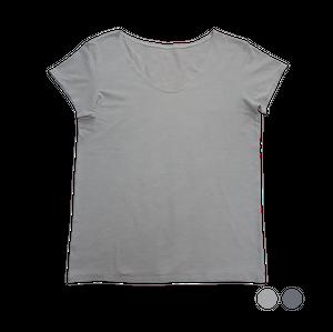 【MEN】ココロ カラダ スミキル ワイドラウンドネックTシャツ