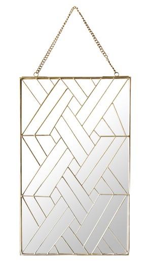 "Geometry Wall Hanging Mirror ""01-S"""