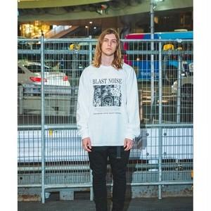 "VIRGOwearworks / ヴァルゴ | x BOUNTY HUNTER コラボロンT "" NOISE "" L/S TEE - White"
