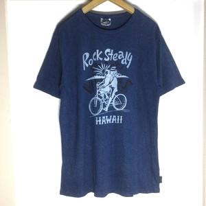 Kads MIIDA x gohemp x Aiki (藍氣) S/S T-Shirts / Rock Steady & nice VIBES (Lサイズ)