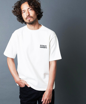 """ULTIMATE GARMENTS"" W KNIT TEE S/S"