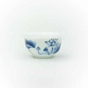 【景徳鎮】湯飲みハス 磁器