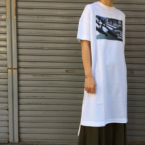 THOMAS MAGPIE/転写ロングTシャツ