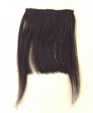 前髪用ウィッグ 人毛100% カット済(pf01)