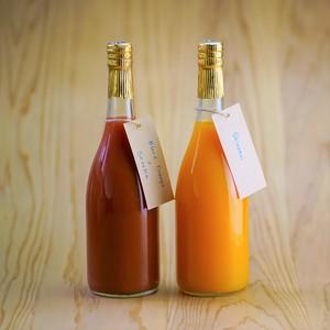 国産ブラッドオレンジ+しらぬい720ml×2本セット