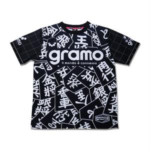 プラクティスシャツ「SHOGI」(ブラック/P-064)☆受注生産可☆