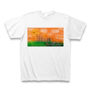 「夕日に染まるコロッセオ」Tシャツ