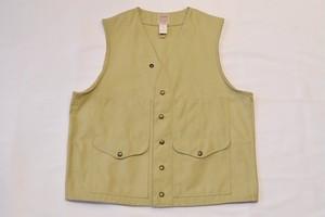 USED FILSON Tin cloth Cruiser Vest -42 01043